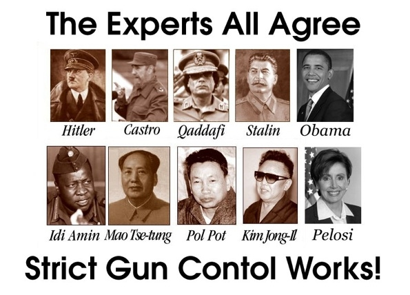 first gun control then genocide More Nonsense Gun Control From The Oval Idiot and the Gestapo.