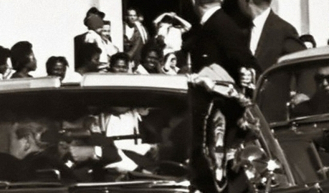 People In Jfk S Car