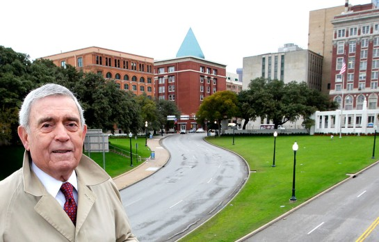 DAN RATHER DEALEY PLAZA 11-6-2013 CS