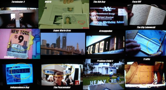 9-11 FORETOLD IN MOVIES MONTAGE