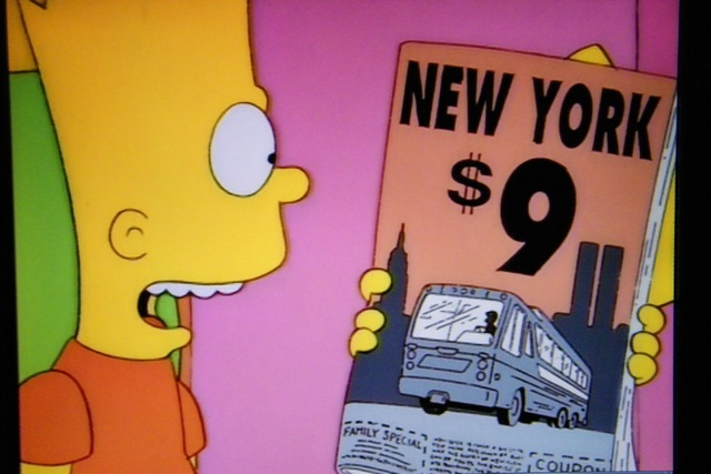SIMPSONS NY 9-11 1997