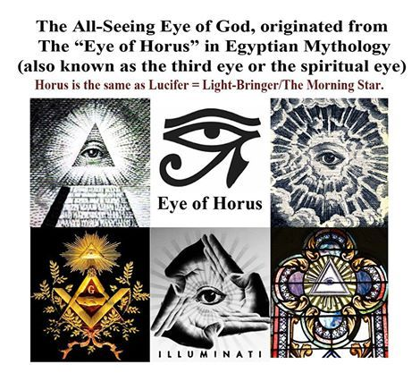 All Seeing Eye Horus Lucifer John Kimber